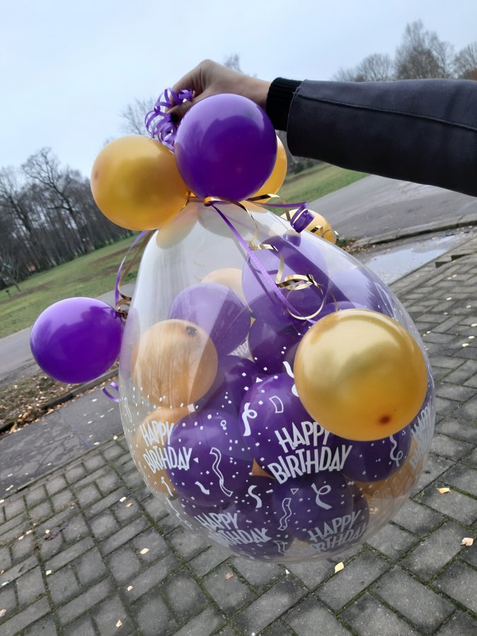 Balons-parsteigums (mazs) #1016
