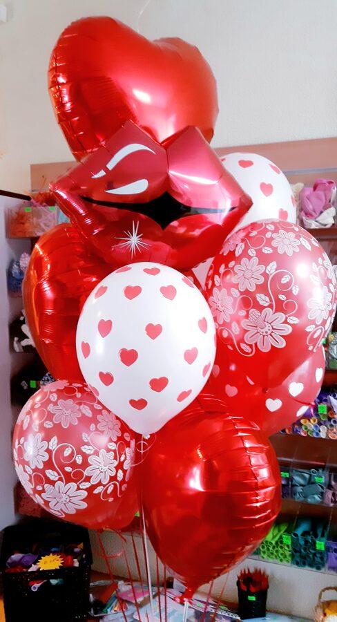 Balonu pušķis #518