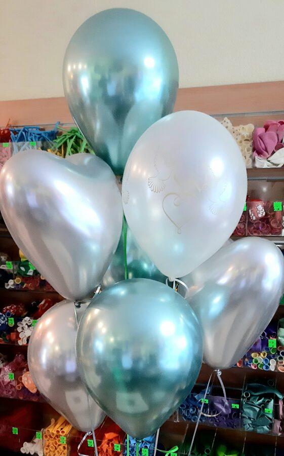 Pušķis no 7 baloniem #1013