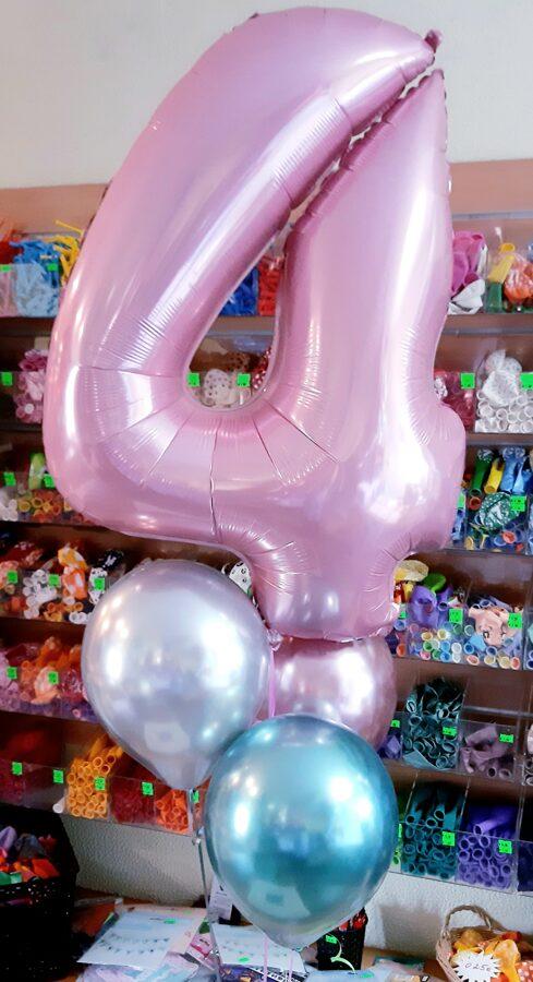Cipars + 3 baloni #702