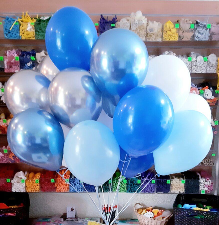 Mākonis no 20 baloniem ar hēliju #105