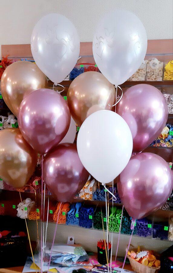 2 pušķi no 7 baloniem #1018
