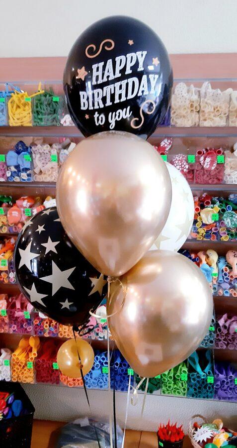 Pušķs no 5 baloniem #327