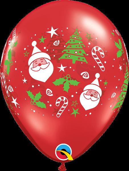 Santa & Christmas Tree #1410