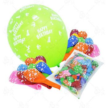 Balons lateksa 30cm ar zīmējumiem #054 (1 gab.)