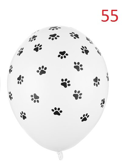 """Balons ar zīmējumu un hēliju 12""""(30cm)"""