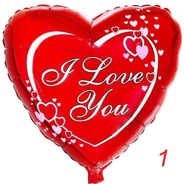 Foil heart (1pc) #508
