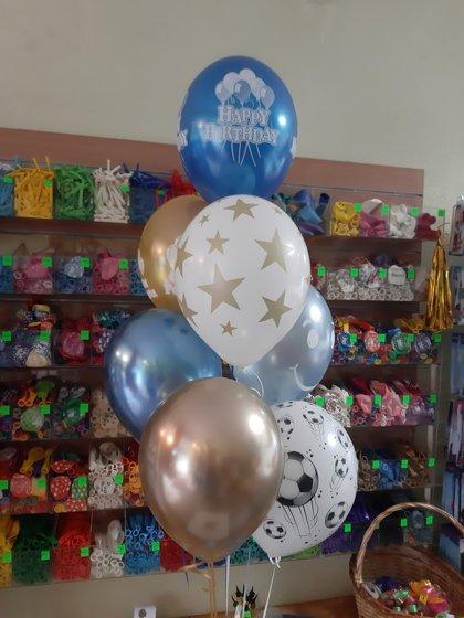 Pušķis no 7 baloniem #1118