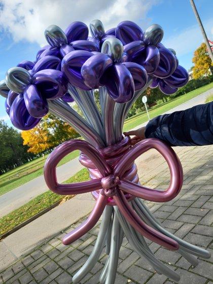 Pušķis no 9 puķēm #819