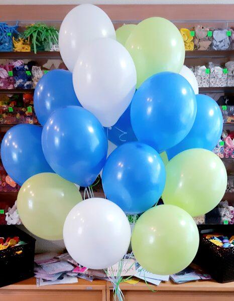 """20 baloni 12""""(30cm) ar hēliju #902"""